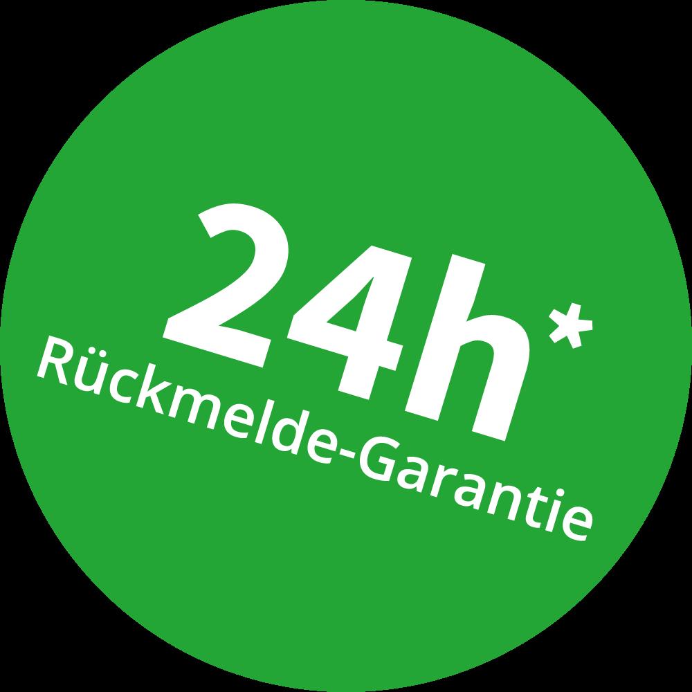 24h Rückmelde Garantie